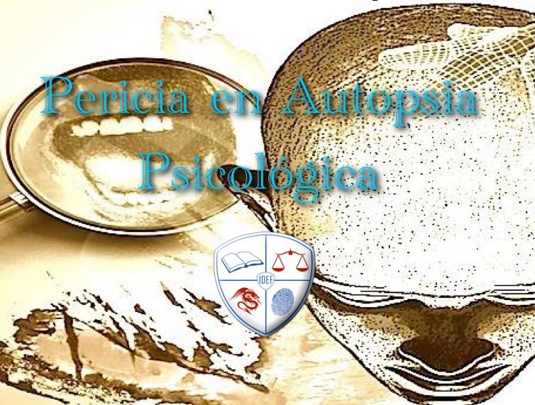 Curso Autopsia Psicológica Online