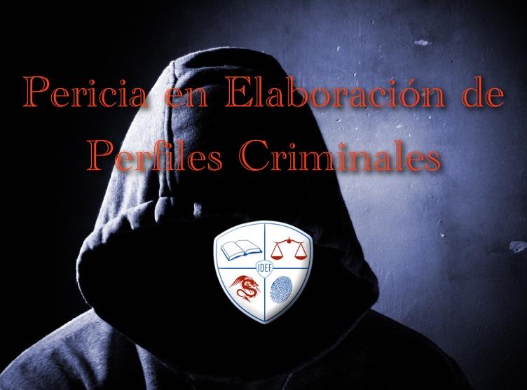 Curso perfiles criminales 2018